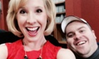 Alison Parker and Adam Ward: the Facebook picture used by several UK national newspapers rather than video stills