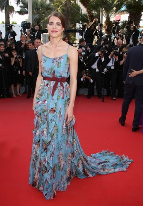 Charlotte Casiraghi at the Cannes Film Festival in 2015.