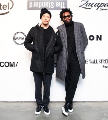 Dao-yi Chow, left, and Maxwell Osborne, right, of Public School.