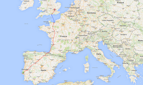 Teenager completes round the world cycle trip