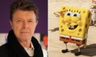 Bowie and Spongebob