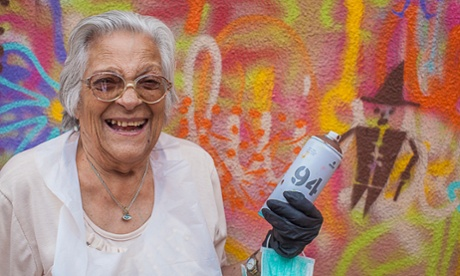 Meet the 'graffiti grannies' of Lisbon