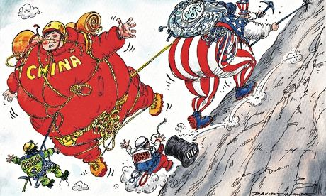 The Brics collapse, the south staggers: and the almighty dollar is back