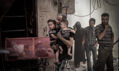 Danger and death are never far away as the Syrian capital tries to cling to normal life