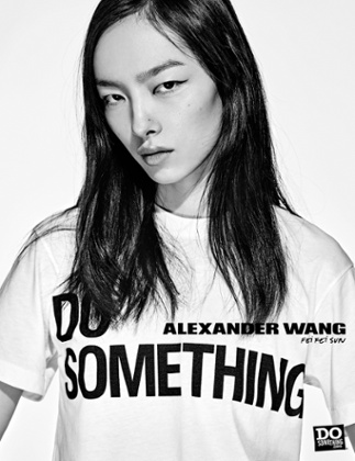 Alexander Wang teamed up with the DoSomething charity supporting youth and social change.