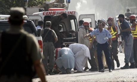 Taliban kill 17 in mosque at Pakistani airbase