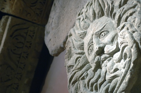The Gorgon's Head, at the Roman baths
