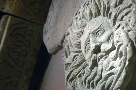 The Gorgon's Head, at the Roman baths