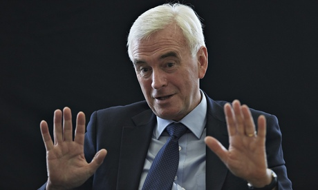 John McDonnell: 'It was a difficult appointment … we knew we were going to be hit by a tsunami'
