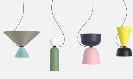 Shape shifters: Luca Nichetto's Alphabeta lights for Hem.