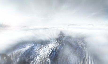 A screenshot from the 90-second Odyssey journey.