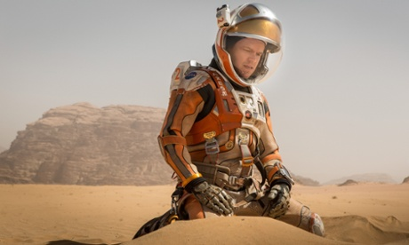 The Martian screened for crew on International Space Station
