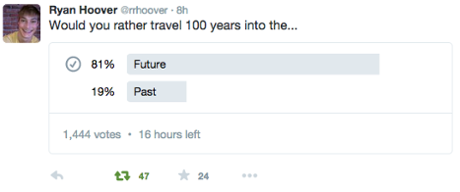 Twitter poll app