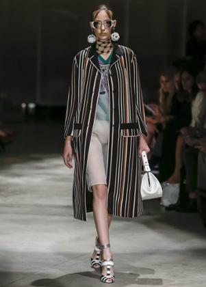 Prada show at Milan Fashion Week SS2016.
