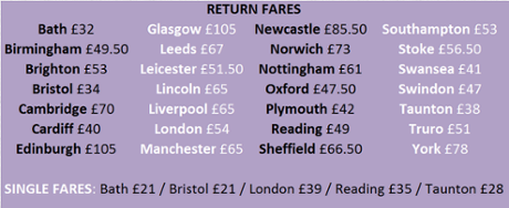 Glastonbury coach tickets