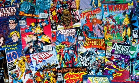 Top 10 reasons to go comic book crazy!