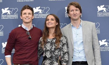 Danish Girl director Tom Hooper: film industry has 'problem' with transgender actors