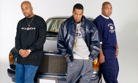 Damon Dash, Jay Z, and Kareem