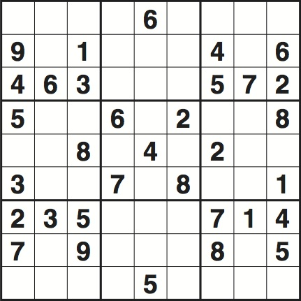picture regarding Printable Sudoku Medium referred to as Sudoku 3354 medium Existence and design and style The Parent
