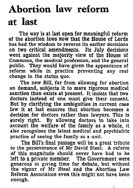 the abortion act 1967 human fertiliation The abortion act 1967 is an act of the parliament of the united kingdom legalising abortions by registered practitioners human fertilisation and embryology act.