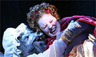 Nicholas Grant and Suzanne Toase in Into the Woods, Linbury Studio