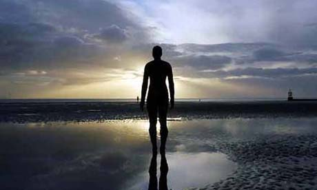 Antony Gormley's Another Place, Crosby, Merseyside