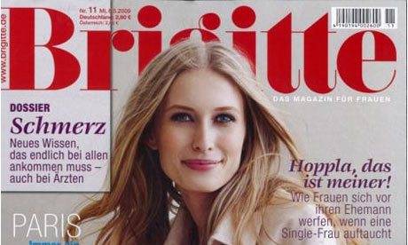 Germany's most popular women's magazine is banning professional models from ...
