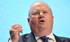 Eric Pickles at the Tory conference