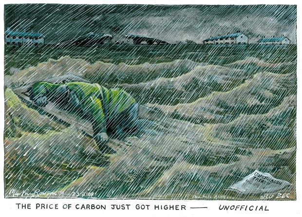 23.11.09: Martin Rowson on Britain's floods