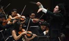 Venezuelan conductor Gustavo Dudamel