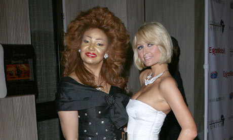 Paris Hilton with Cameroonian rst lady Chantal Biya