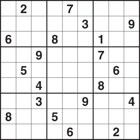 Sudoku 1246 hard Photograph: Guardian
