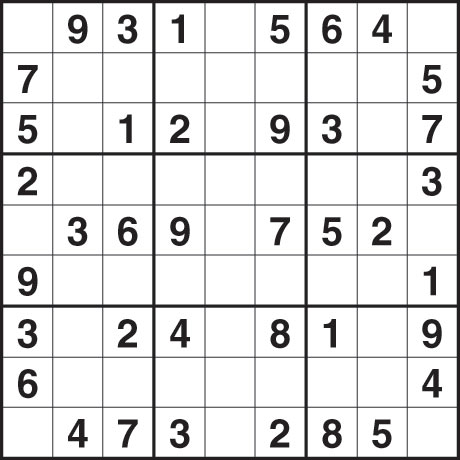 Easy Sudoku Printable on Sudoku 1 247 Easy   Life And Style   The Guardian