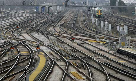 Clapham Junction station in London