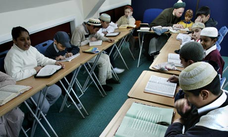 Teaching in UK madrassas