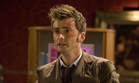 The Doctor, David Tennant, facing his mortality before his