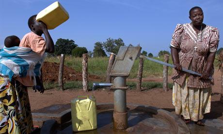 katine borehole pumping