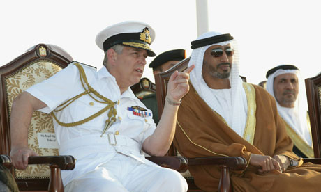 Prince Andrew in Abu Dhabi