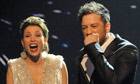 Dannii Minogue and Matt Cardle