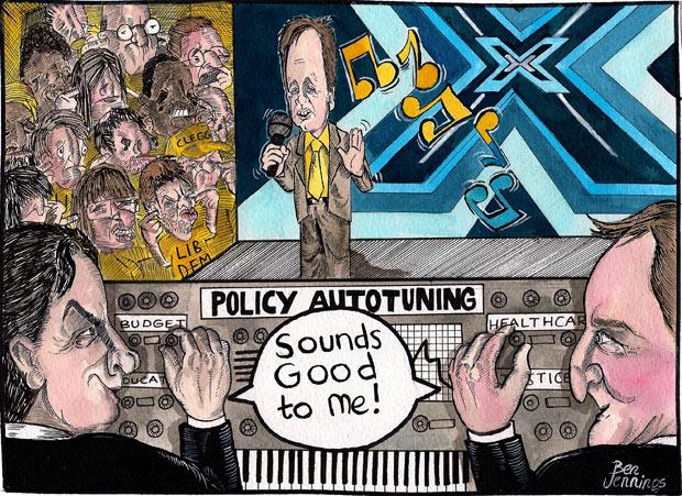 24.08.10: Ben Jennings on the Lib Dem-Tory coalition