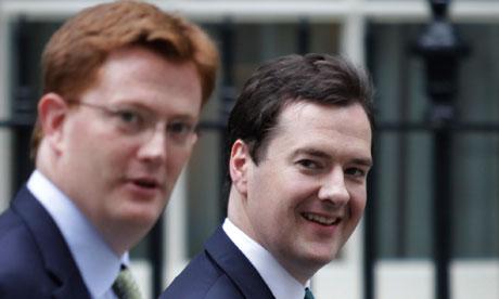 George Osborne, Danny Alexander