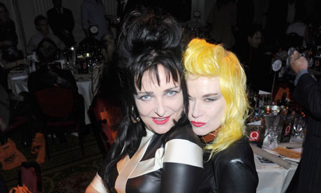 Siouxsie Sioux at Q awards