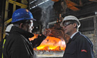 Nick Clegg visits Sheffield Forgemasters