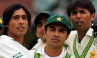 Mohammad Amir, captain Salman Butt and Mohammad Asif