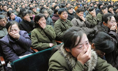 North Koreans lament the death of Kim Jong-il