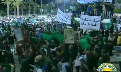 Libya state television