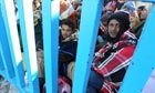 People flee Libya