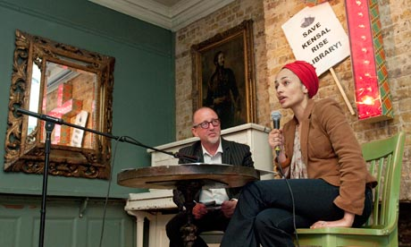 Zadie Smith joins campaign to save her local library (UK)
