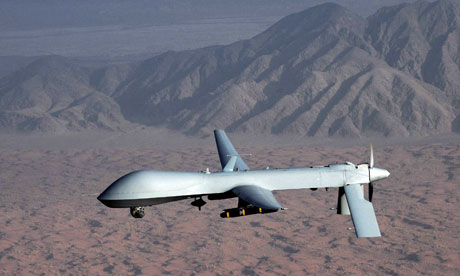 Drones on US mainland