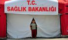 Syrian refugee in Turkey